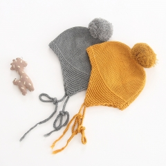 cute ball knitting hat for baby