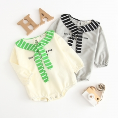 baby/toddler's printed letter coat in sping and fall