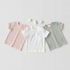 baby summer pure cotton short-sleeve Tee