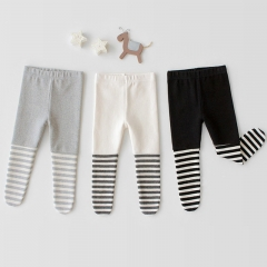 infant baby girl 0-2 years joker strips leggings wholesale