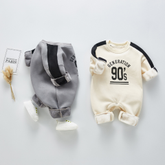 2020 new arrival spring & autumn long-sleeve round collar jumpsuit for baby boy wholesale