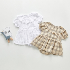 Newborn Baby Infant Girl Romper Dress Outfits Party Dress wholesale