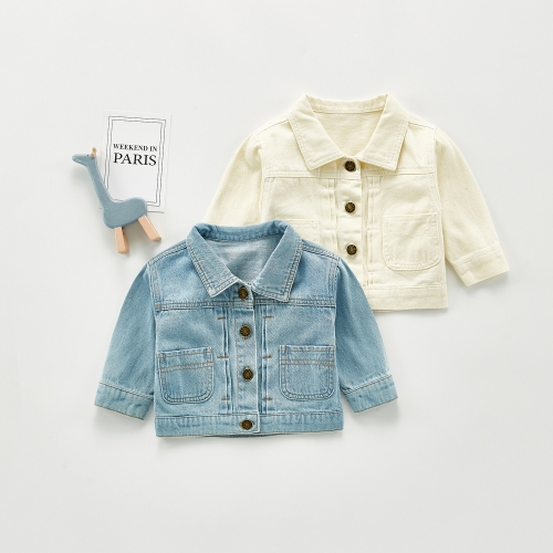 Baby boys and girls denim jackets wholesale