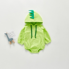 hooded cute design baby newborn photography romper wholesale