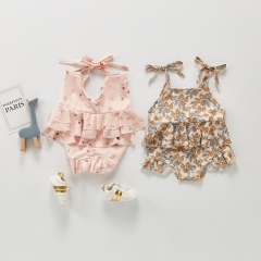 2021 new arrival baby girl swimming sets wholesale